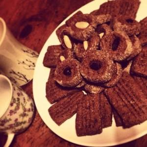 Biscotti cacao e spezie