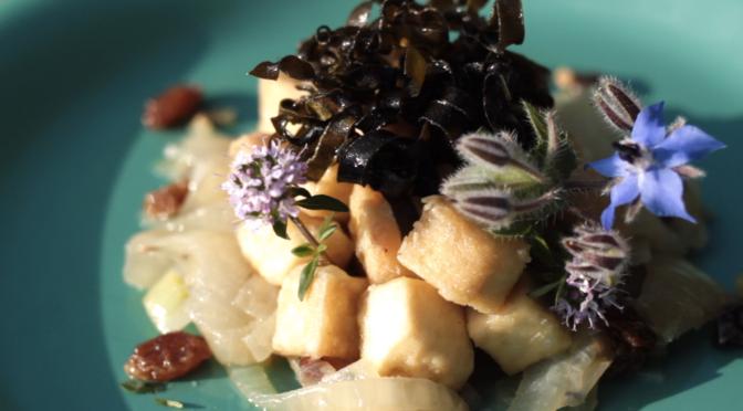 Video ricetta – Tofu con alghe kombu
