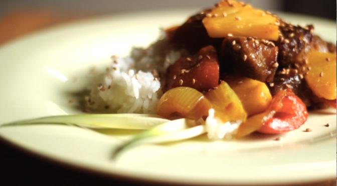Video ricetta – Seitan in agrodolce