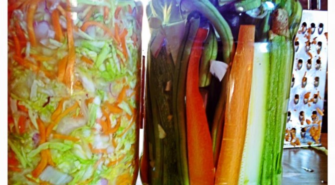 Verdure fermentate 1 – Crauti e simili