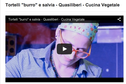 "Videoricetta – Tortelli ""burro"" e salvia"
